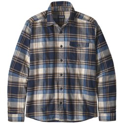Patagonia Long-Sleeved Lightweight Fjord Flannel Shirt - Men's