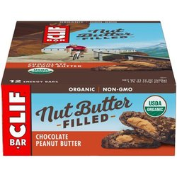 Clif CLIF BAR - Nut Butter Filled Chocolate Peanut Butter (50g) - Box of 12
