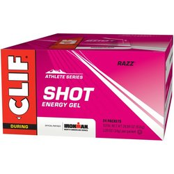 Clif Shot Energy Gel - Razz - Box of 24 (34g each)