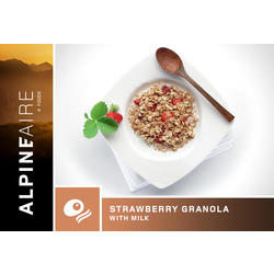 AlpineAire Strawberry Granola with Milk