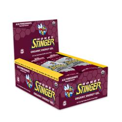 Honey Stinger Organic Energy Gel - Acai Pomegranate (37g) - Box of 24