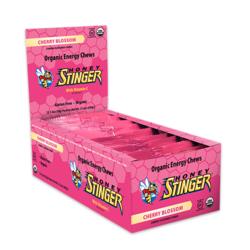 Honey Stinger Organic Energy Chew - Cherry Blossom (50g) - Box of 12