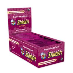 Honey Stinger Organic Energy Chew - Pomegranate Passionfruit (50g) - Box of 12