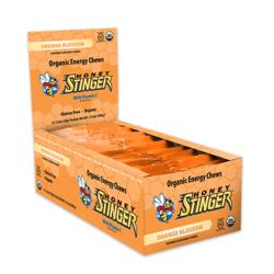Honey Stinger Organic Energy Chew - Orange Blossom (50g) - Box of 12