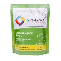 Tailwind Caffeinated Endurance Fuel - Green Tea Buzz - 50 Servings (1350g)