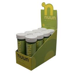 nuun Active Hydration - Lemon Lime (10 tablets per tube) - Box of 8 Tubes