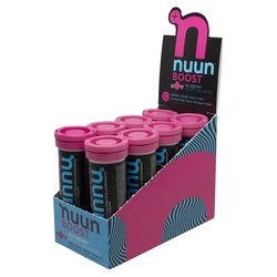 nuun Boost Hydration - Wild Berry (10 tablets per tube) - Box of 8 Tubes
