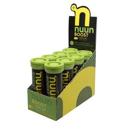nuun Boost Hydration - Fresh Lime (10 tablets per tube) - Box of 8 Tubes