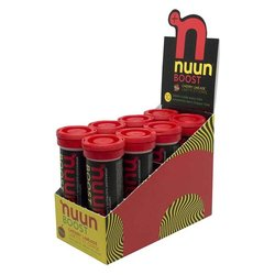 nuun Boost Hydration - Cherry Limeade (10 tablets per tube) - Box of 8 Tubes