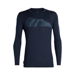 Icebreaker Tech Lite Long Sleeve Crewe Remarkables - Men's