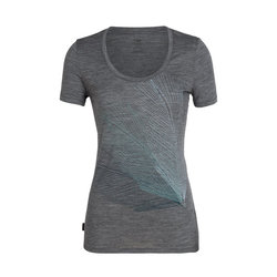 Icebreaker Tech Lite Short Sleeve Scoop Plume - Women's