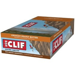 Clif CLIF BAR - Crunchy Peanut Butter (68g) - Box of 12