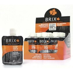 Brix Energy Gel - Maple Syrup - 80g - Box of 24