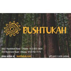 Bushtukah Gift Cards