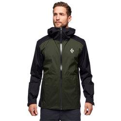 Black Diamond Stormline Stretch Rain Shell Jacket - Mens