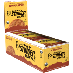 Honey Stinger Cinnamon Gluten-Free Waffle - Box of 16