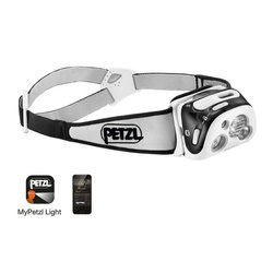 Petzl Reactik+ USB Rechargeable Headlamp (300 Lumens)