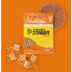 Honey Stinger Organic Waffle - Salted Caramel 30g) - Box of 16