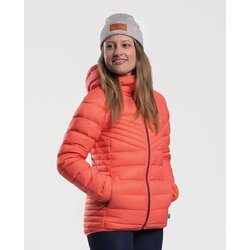 Peppermint Chalet Hoodie Jacket - Women's
