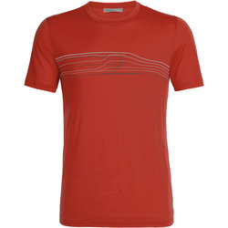 Icebreaker Tech Lite Short Sleeve Crewe Ski Racer - Men's
