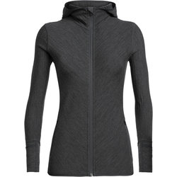 Icebreaker Descender L/S Zip Hood - Women's