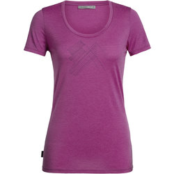 Icebreaker Tech Lite Short Sleeve Scoop Snap Head - Women's