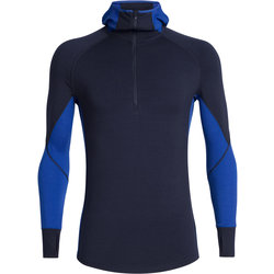 Icebreaker BodyfitZONE™ 260 Zone Long Sleeve Half Zip Hood - Men's