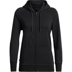 Icebreaker Helliers Long Sleeve Zip Hood - Women's
