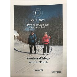 NCC Gatineau Park NCC Winter Trails Map