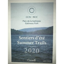 NCC Gatineau Park NCC Summer Trails Map