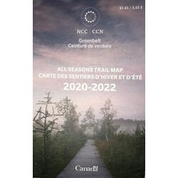 NCC Canada's Capital Greenbelt Map - NCC