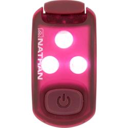 Nathan Strobe Light LED Safety Light Clip-On