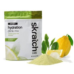 Skratch Labs Sport Hydration Drink Mix - Matcha Green Tea & Lemon - 440g/1lb