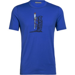 Icebreaker Tech Lite Short Sleeve Crewe Otter Paddle - Men's