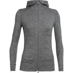 Icebreaker Quantum II Long Sleeve Zip Hood - Women's