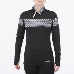 Swix Myrene Asymetric Half-Zip Nordic Sweater - Women's
