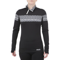 Swix Myrene Asymetric Half-Zip Nordic Sweater - Women's