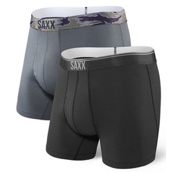 Saxx Quest Fly 2-Pack Boxer Brief Men's