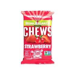 Bonk Breaker Energy Chews - Strawberry with Caffeine (50g)