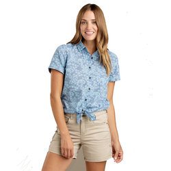 Toad & Co. Indigo-For-It Short Sleeve Shirt - Women's