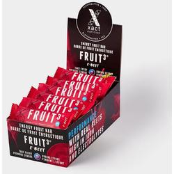 Xact Nutrition FRUIT3 Energy Fruit Bar - E-Beet - Box of 24