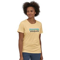 Patagonia Pastel P-6 Logo Organic Cotton Crew T-Shirt - Women's