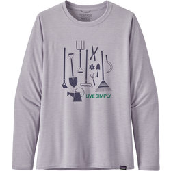 Patagonia Long-Sleeved Capilene® Cool Daily Graphic Shirt - Women's