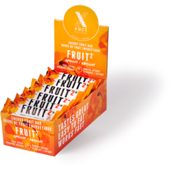 Xact Nutrition FRUIT2 Energy Fruit Bar - Apricot - Box of 24