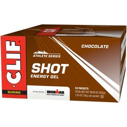 Clif Shot Energy Gel - Chocolate - Box of 24 (34g each)