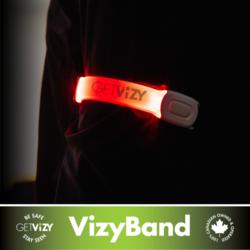 Get Vizy Vizy Band - Rechargeable LED Armband Light