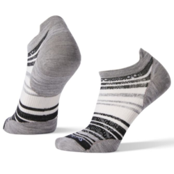 Smartwool PhD® Run Ultra Light Striped Micro Socks - Women's