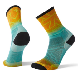 Smartwool PhD® Run Ultra Light Print Crew Socks - Men's