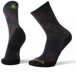 Smartwool PhD® Run Light Elite Print Crew Socks - Men's