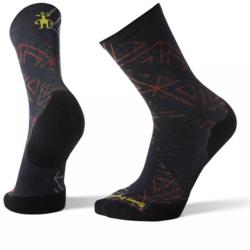 Smartwool PhD® Run Light Elite Print Crew Socks - Men's